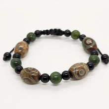 Load image into Gallery viewer, Green Dzi Bracelet
