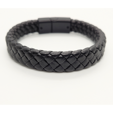 Load image into Gallery viewer, Braided Leather Cuff Bracelet