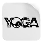 Sticker-Yoga