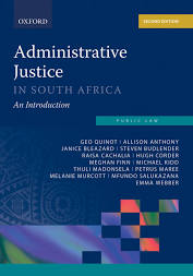 ADMINISTRATIVE JUSTICE IN SA: AN INTRODUCTION