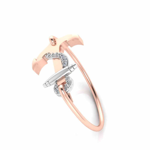 Summer Party Wear Anchor Bangle Bracelets For Women