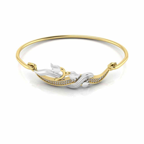 Lily of the Valley Bangle Bracelets For Womens
