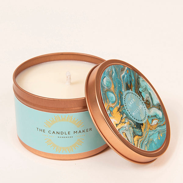 lady million soy wax candle