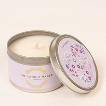 Load image into Gallery viewer, lavender soy wax candle