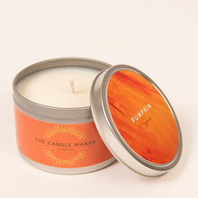 Load image into Gallery viewer, pumpkin spice solver soy wax candle