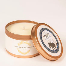 Load image into Gallery viewer, elephant gold soy wax candle