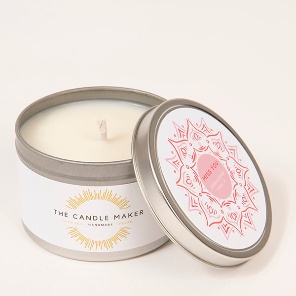 miss you Eco Soy Wax Candle