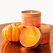Load image into Gallery viewer, pumpkin spice soy wax candles