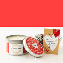 Load image into Gallery viewer, love valentines day soy wax candles