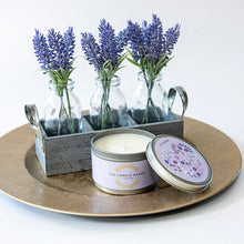 Load image into Gallery viewer, lavender soy wax candles