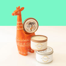 Load image into Gallery viewer, Soy wax Teakwood Giraffe Candle