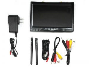 Boscam 5.8GHz Diversity Receiver / 7 Inch LCD Monitor /w AC charger
