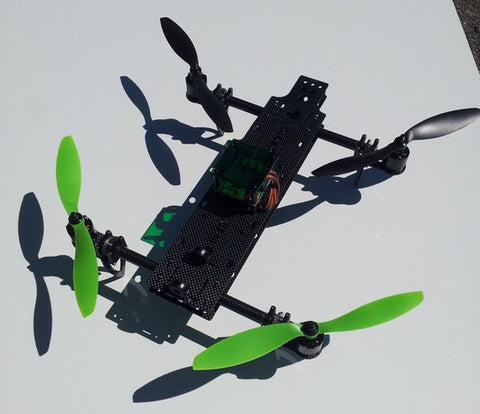 Black Mamba V2 Quadcoptor Kit w/ two RC Satelites