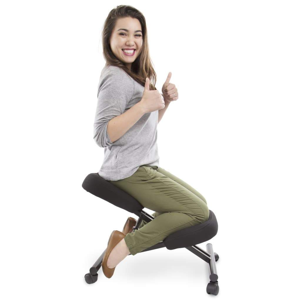 How Can a Kneeling Chair Prevent Back Pain? | Stand Steady