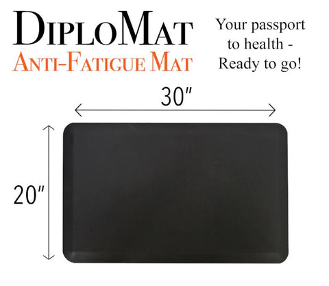 DiploMat Anti-Fatigue Mat for Standing Desks