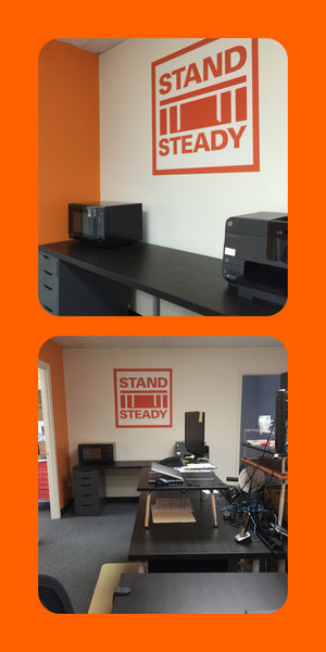 New 360walls logo for standing desk manufacturer.