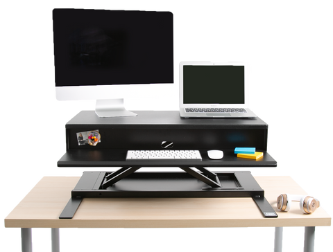 FlexPro Air Desk Topper with two levels - split level