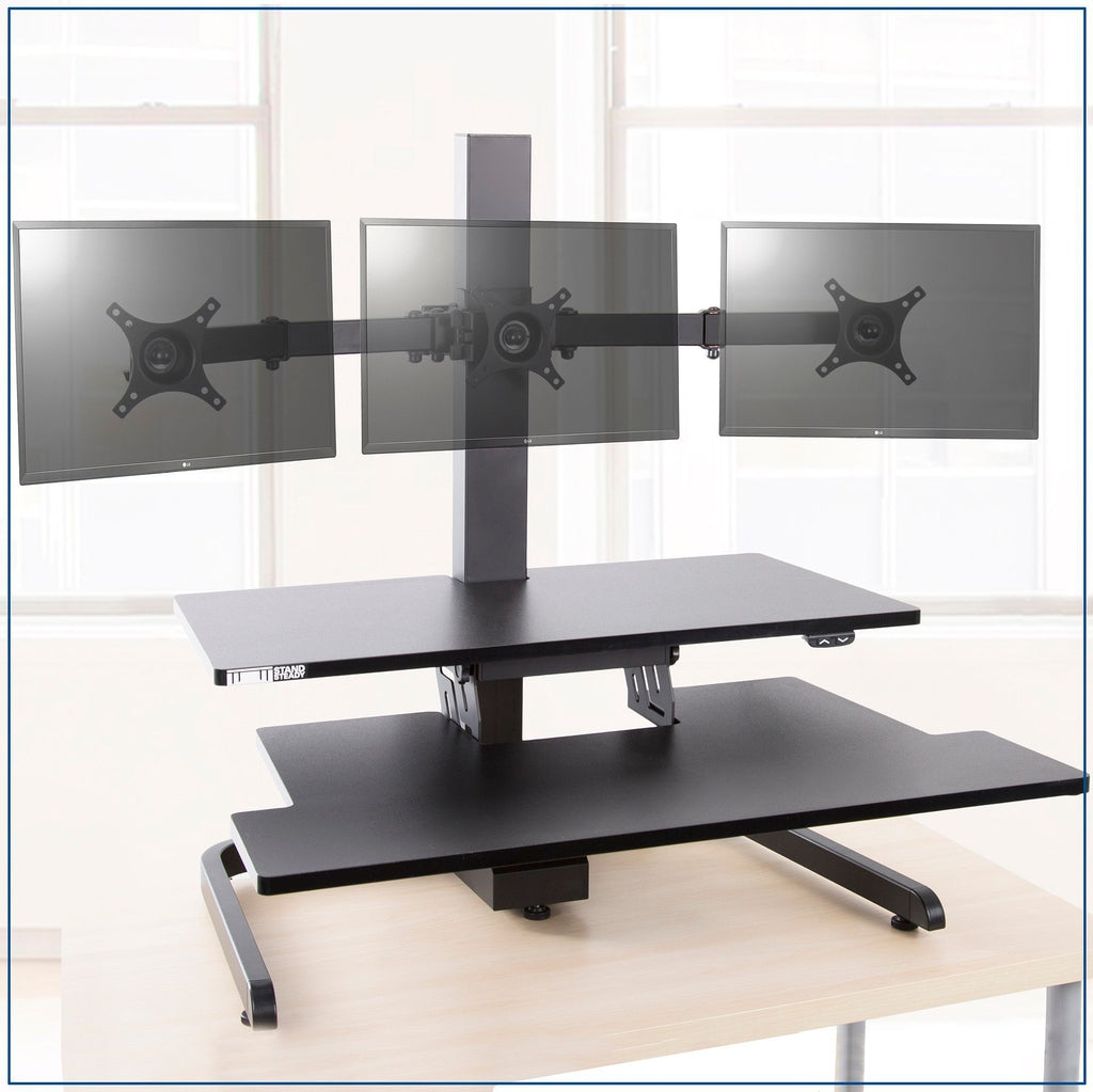 Techtonic Monitor Mount Standing Desk