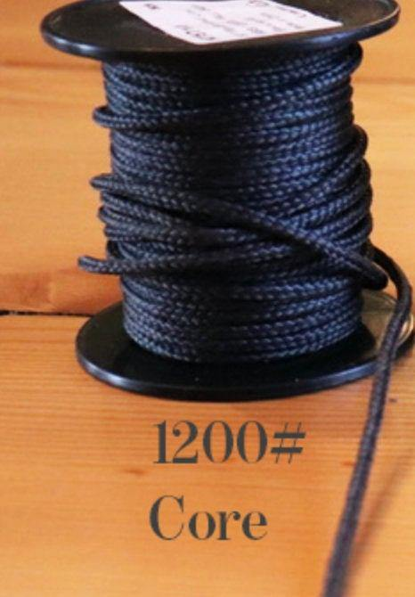 1200# Kevlar Core-BLACK - DaneCraft Leather Lace & Show Lead Supply