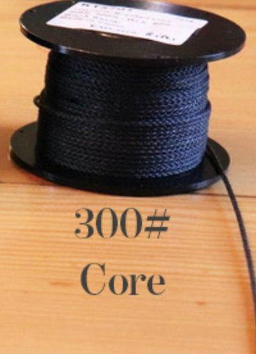 300# Kevlar Core-BLACK - DaneCraft Leather Lace & Show Lead Supply