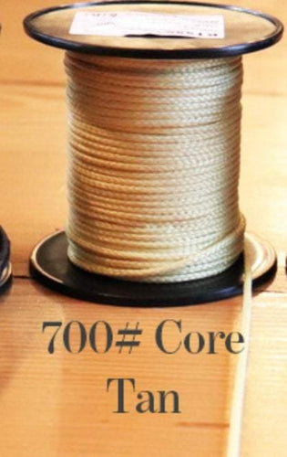 700# Kevlar Core-Light Yellow - DaneCraft Leather Lace & Show Lead Supply