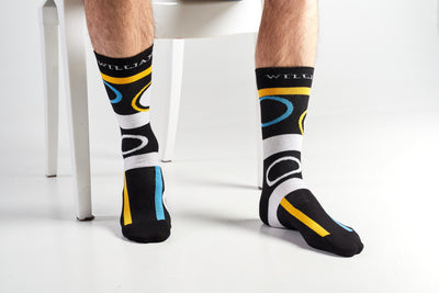 Ligure -Colourful Men's socks - Socks by William