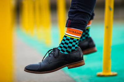 Velocita - Colourful Men's socks - Socks by William