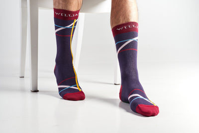 Violeta- Colourful Men's socks - Socks by William