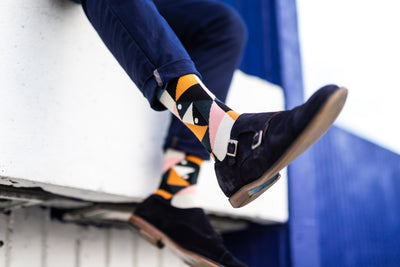 Elegante - Colourful Men's socks - Socks by William