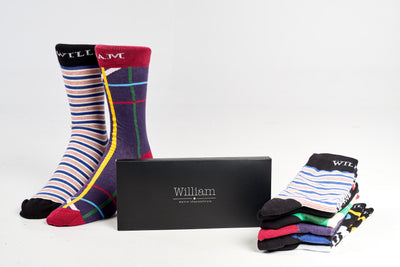 6-month men's Socks subscription - Socks by William
