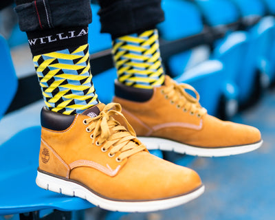 Limone - Colourful Men's socks - Socks by William