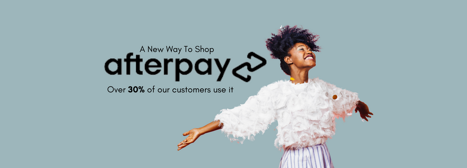 103 Collection now has Afterpay. Shop Now Pay Later with 4 installment payments.