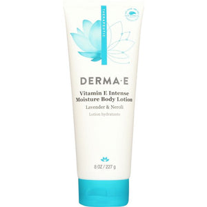DERMA E: Vitamin E Intensive Therapy Body Lotion Naturally Scented, 8 oz