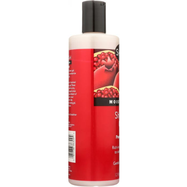 SHIKAI: Moisturizing Shower Gel Pomegranate Body Wash, 12 oz