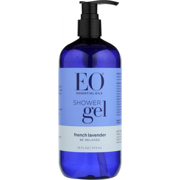 EO: Shower Gel Lavender Body Wash, 16 oz