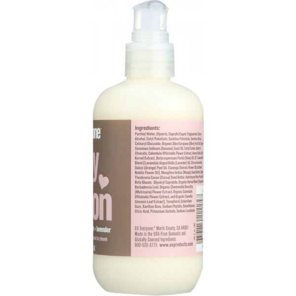 EVERYONE: Chamomile Lavender Baby Lotion, 8 fl oz