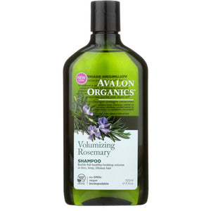 AVALON ORGANICS: Shampoo Volumizing Rosemary, 11 oz