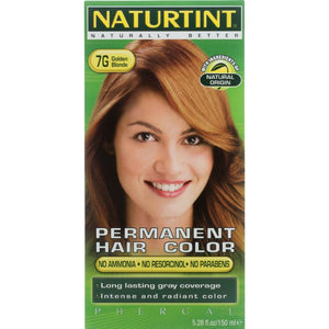 NATURTINT: Permanent Hair Color 7G Golden Blonde, 5.28 oz