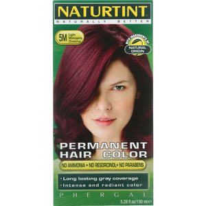 NATURTINT: Permanent Hair Color 5M Light Mahogany Chestnut, 5.28 oz