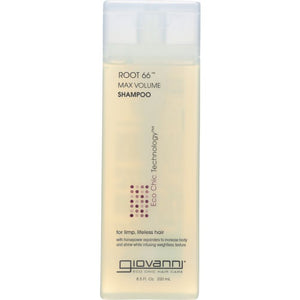 GIOVANNI: Root 66 Max Volume Shampoo, 8.5 oz