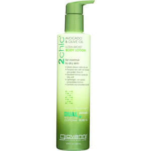 GIOVANNI: 2Chic Ultra-Moist Body Lotion Avocado and Olive Oil, 8.5 oz