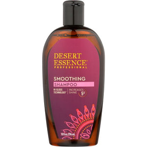DESERT ESSENCE: Shampoo Smoothing, 10 fl oz