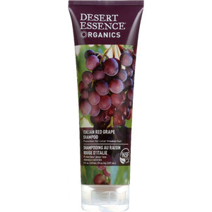 DESERT ESSENCE: Organics Shampoo Italian Red Grape, 8 oz
