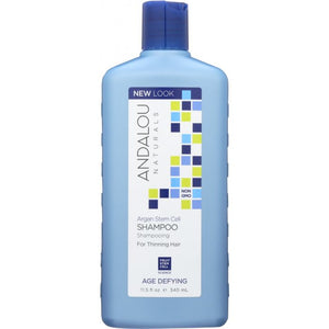 ANDALOU NATURALS: Age Defying Shampoo with Argan Stem Cells, 11.5 oz