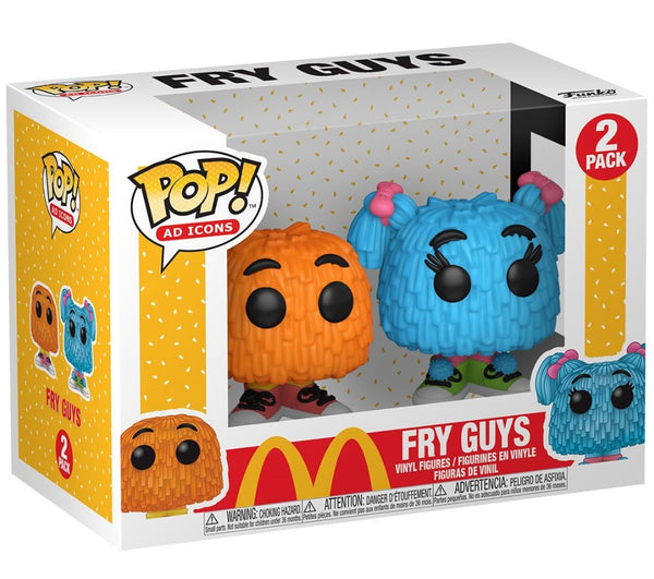 Ad Icons McDonald's Fry Guys 2-pack