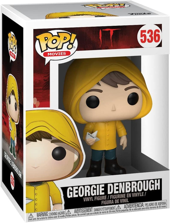 Funko Pop! Movies #536 It Georgie with Boat