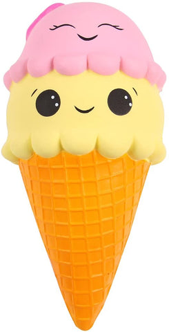 Slow Rising Scented Ice Cream Cone Jumbo Squishy