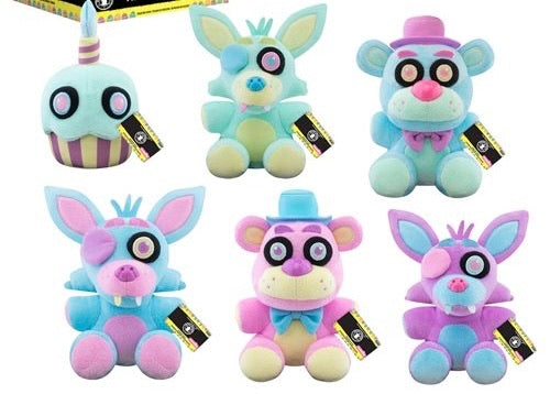 Five Nights at Freddy's Springtime Plushes