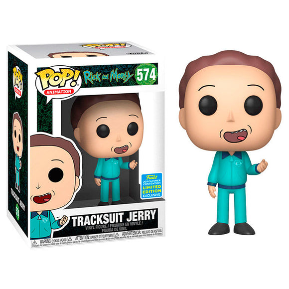Funko Pop! Animation Rick & Morty #574 Tracksuit Jerry