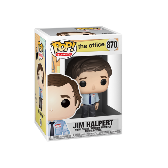 Funko Pop! Television #870 The Office Jim Halpert